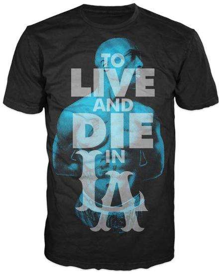 2aab3bd8 Tupac - To Live and Die in LA T-shirts at AllPosters.com