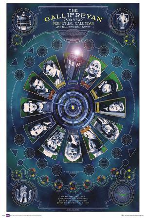 Doctor Who - Galifreyan Calendar