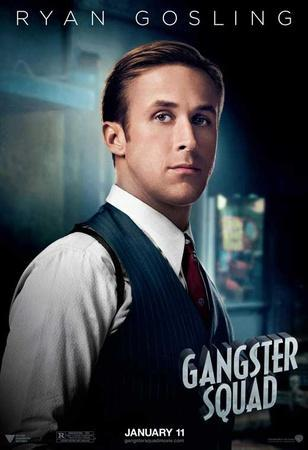 The Gangster Squad (Sean Penn, Ryan Gosling, Emma Stone) Movie Poster