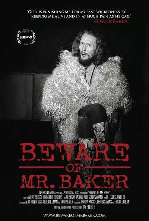 Beware of Mr. Baker Movie Poster