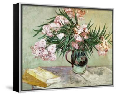 Vase with Oleanders and Books, c.1888