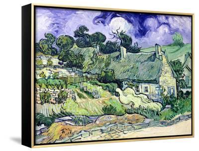 Thatched Cottages at Cordeville, Auvers-Sur-Oise, c.1890