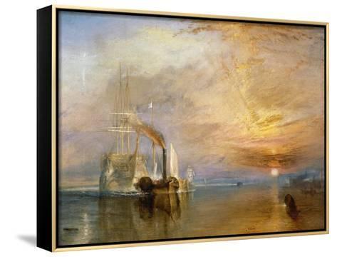 ARTCANVAS The Fighting Temeraire 1839 Canvas Art Print by J M W Turner