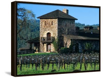 V Sattui Winery and Vineyard in St. Helena, Napa Valley Wine Country, California, USA