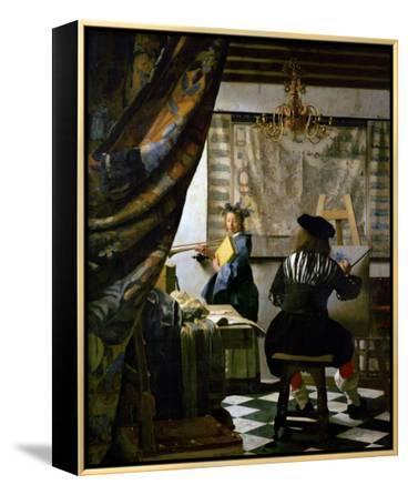 The Painter (Vermeer's Self-Portrait) and His Model as Klio