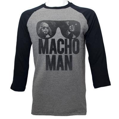 Macho Man - Machoooo (raglan)