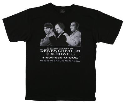 The Three Stooges - Dewey Cheatem And Howe