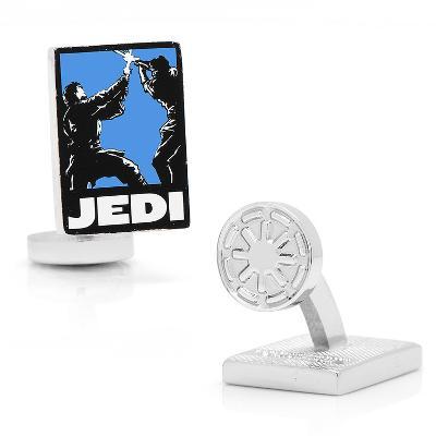 Jedi Pop Art Poster Cufflinks