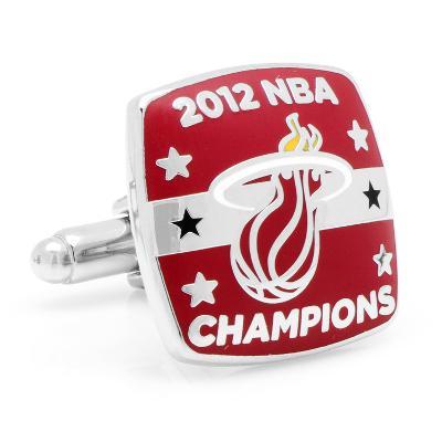 3D Miami Heat 2012 Championship Cufflinks