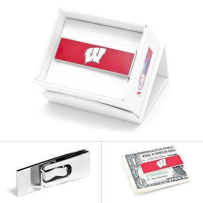 University of Wisconsin Badgers Money Clip