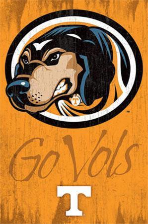 University of Tennessee Go Vols Logo NCAA