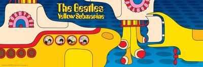 The Beatles - Yellow Submarine Music Poster