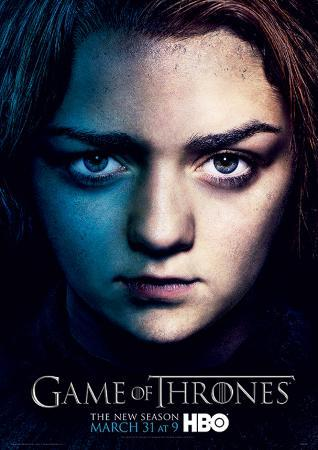 Game Of Thrones (Season 3 - Arya) Television Poster