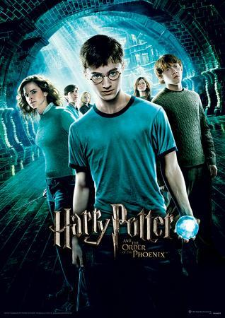 Harry Potter (Order Of The Phoenix) Movie Poster