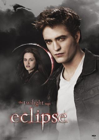 Twilight - Eclipse Edward And Bella Moon Movie Poster