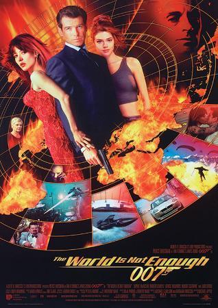 James Bond (World Not Enough One-Sheet) Movie Poster Print