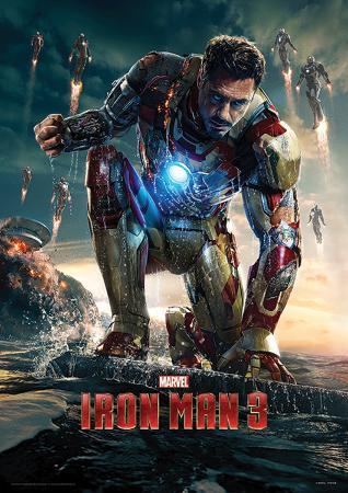 Iron Man 3 (Crouching) Movie Poster