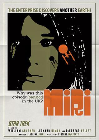 Star Trek - Miri Vintage Style Television Poster