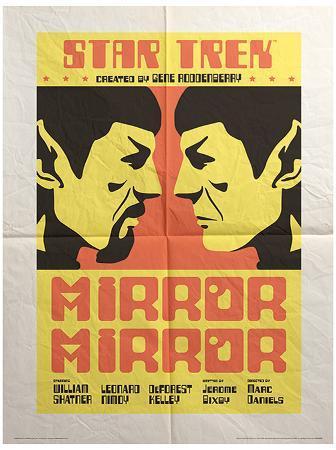 Star Trek - Mirror Mirror Vintage Style Television Poster