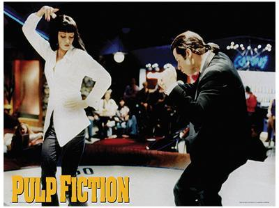 Pulp Fiction Dance Movie Poster