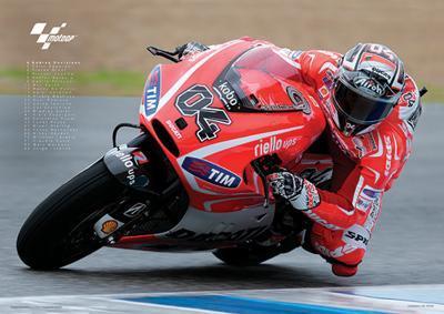 Moto GP (Dovizioso) Motorcycle Sports Poster