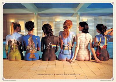 Pink Floyd - Back Catalogue Music Poster
