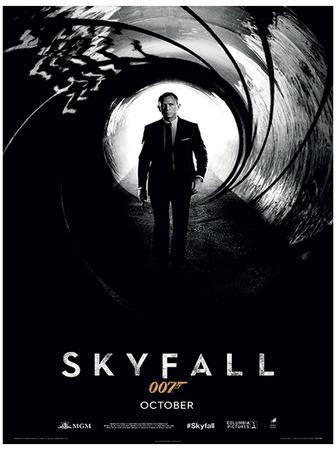 James Bond (Skyfall Teaser) Movie Poster Print