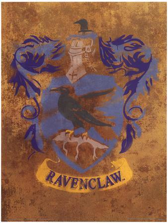 Harry Potter (Ravenclaw Crest) Movie Poster