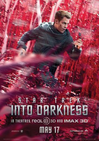 Star Trek (Into Darkness – Kirk Banner) Movie Poster