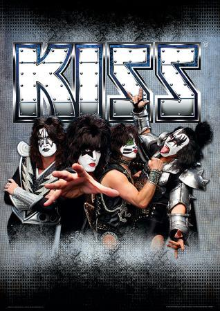 Kiss - Monsters (German Friendly) Music Poster