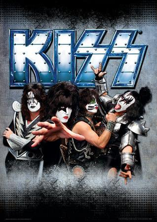 Kiss - Monsters Music Poster
