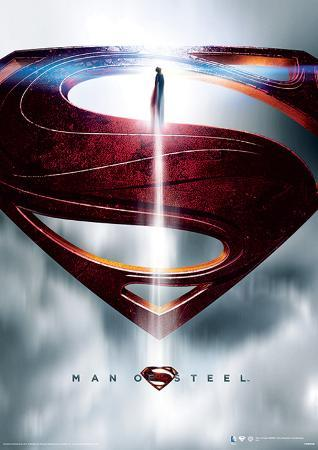 Man Of Steel (Glyph) Movie Poster