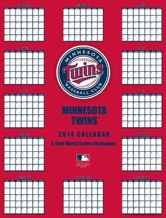 Minnesota Twins - 2014 Giant Poster Calendar