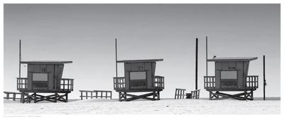 Lifeguard Shacks, Venice Beach