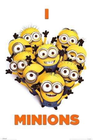 Despicable Me 2 (I Love Minions) Movie Poster