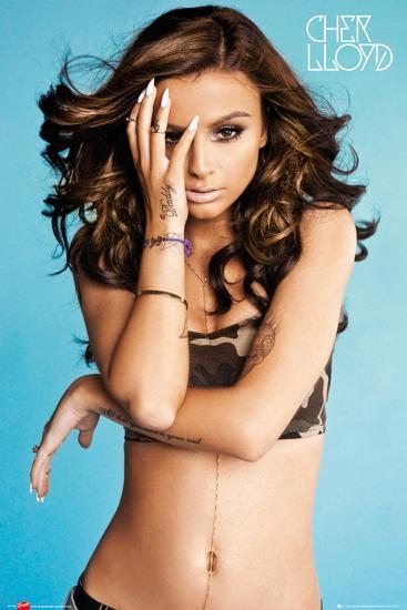 Cher Lloyd Camo Vest Prints at AllPosters.com