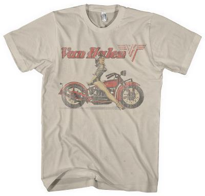 Van Halen - Biker Pin Up