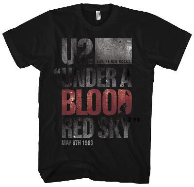 U2 - Under A Blood Red Sky (slim fit)