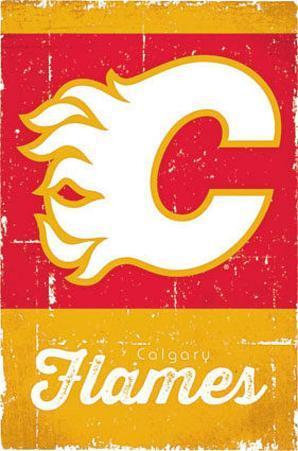 Calgary Flames Retro Logo