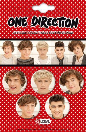 One Direction Badge Pack Set 3