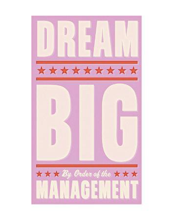 Dream Big (pink)