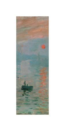 Impression, Sunrise, c. 1872 (detail)