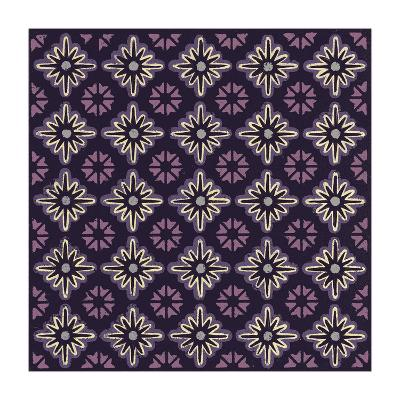 Moroccan Twelve Point Star (Purple)