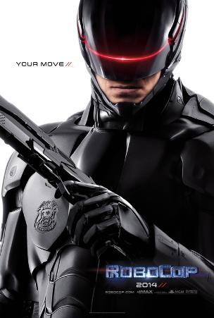 Robocop double- sided Advance Movie Poster