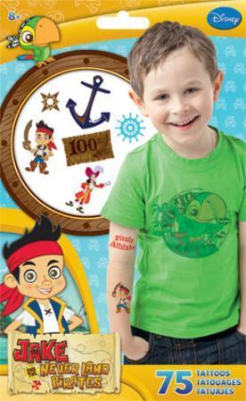 Jake And The Neverland Pirates Tattoo Bag