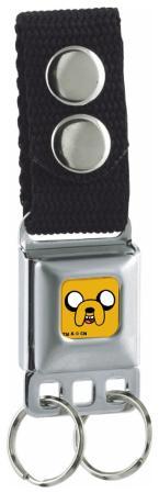 Adventure Time - Jake Seatbelt Buckle Keychain