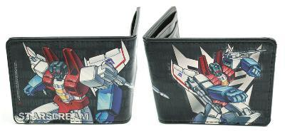 Transformers - Starscream Shooting Decepticon Logo Leather Wallet