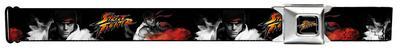 Street Fighter - Ryu Fireball Seatbelt Belt