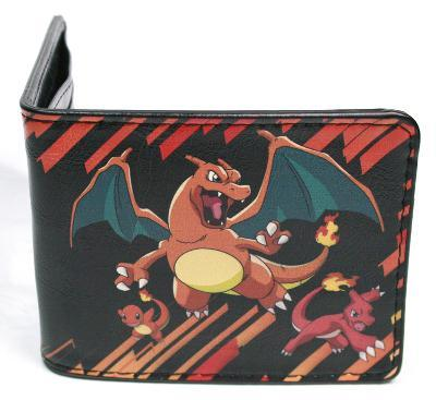 Pokemon - Charmander Evolution Leather Wallet