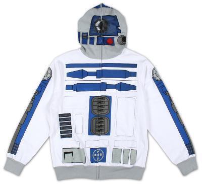 Zip Hoodie: Star Wars - I Am R-2